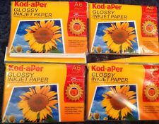 BNIP X 4 - Kodak Kod-aPer Glossy Inkjet Paper A6 25 sheets - 100 Sheets