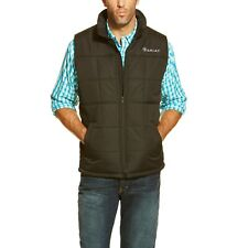 Ariat® Men's Crius Black Insulated Concealed Carry Vest 10011523