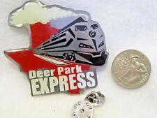 Deer Park Express Train Texas Cooperstown Baseball Lapel Pin Pinback Hat