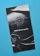 1990 Harley Brochure XLH Sportster FXST FXRT FXRS FLHS FLTC FLHTC Electra Glide