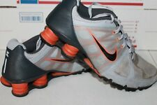 Nike Shox Livestrong Running Shoes US Mens Size 10 Gray Orange 442161-051 Nice!