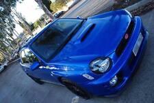 Subaru impreza bugeye sti wrx splitter/front bumper lip spoiler 01-02 pu