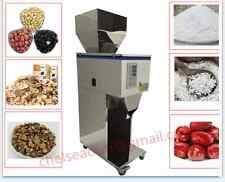 weigh filler,tea,seed,grain Powder  particle Filling Machine 10-1000G