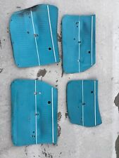 1968 Pontiac TEMPEST CHEVY WAGON FRONT & REAR DOOR PANELS INTERIOR OEM 1969 1970