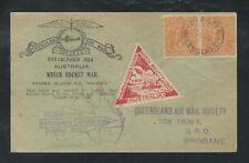 1935 AUSTRALIA rocket mail Fraser Island - MAHENO - EZ 2C1
