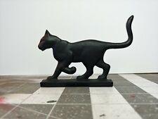 Franklin Mint Curio Cabinet Bootscraper Cat