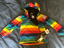 molo hopla winter rainbow jacket 128 8yrs