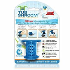 TubShroom The Revolutionary Shower Tub Drain Protector Hair Catcher/Strainer/...