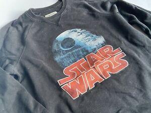 ABERCROMBIE Kids Cooles schwarzes STAR WARS Sweatshirt Gr.15/16 164
