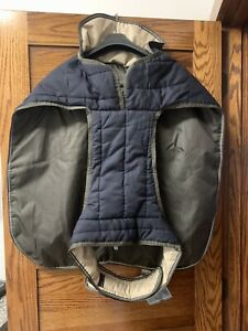 NWT Brown EPOCH PETRAGEOUS XXL JUNEAU DOG COAT WATER PROOF WINDPROOF BREATHABLE