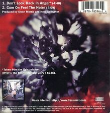 Oasis - Don't Look Back In Anger ( CD Single)