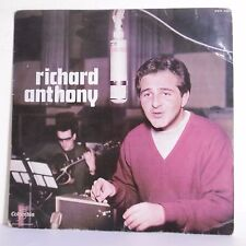 "33T Richard ANTHONY Disque Vinyle LP 12"" J'IRAI TWISTER LE BLUES - COLUMBIA 220"