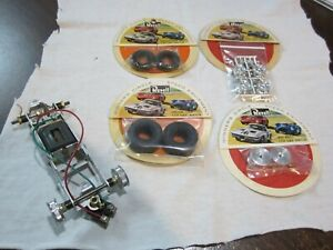 Used Revell 1/24 Scale Lotus, BRM Chassis Complete For Ed Roth Indy Car Bodies