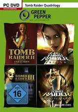 Tomb Raider Quadrilogy Teil 2 + 3 + Legend + Anniversary Deutsch GuterZust.