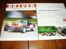 2004 CATERHAM SUPER SEVEN   ***ORIGINAL ARTICLE*** LOTUS 7