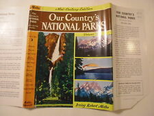 Our Country's National Parks, Irving Melbo, Dust Jacket Only