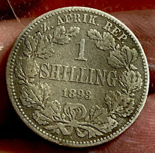 South Africa 1893 Shilling RARE