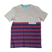 King Apparel Streetwear SS13 - Dappa Pocket Grey T-Shirt - Men's Size Large