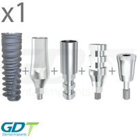 Implantation Set For Conical NP, Active Hex, Dental Implants GDT Brand