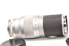 Lens  HEKTOR 135mm f4.5 rangefinder lens in Leica M mount from 1958
