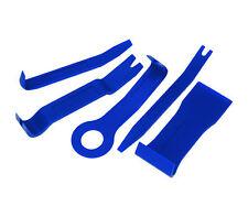 5 piezas Conjunto de herramientas de eliminación de tapicería recorte para quitar paneles de puerta interior coche/van