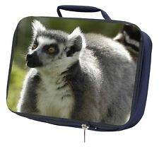 Ringtail Lemur Navy Insulated School Lunch Box Bag, ARL-7LBN