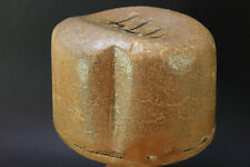 Millinery OVAL Hat Block with side indents.