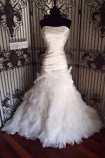 255W VAL STEFANI COUTURE MOONLIGHT D8054 SZ 14 IVORY $2250 WEDDING DRESS GOWN