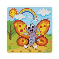 Wooden Honeybee Jigsaw Toys For Kids Education And Learning Puzzles Toys