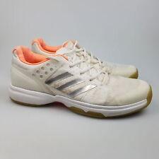 Women's ADIDAS 'Ubersonic 2' Sz 9 US Tennis Shoes White GCon   3+ Extra 10% Off