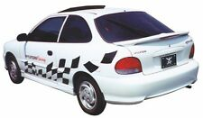 For Hyundai Accent Coupe Rear Wing Spoiler Primed OE w/ LED 1994-2000 JSP 91303