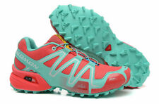 Hot Women's Outdoor Salomon Speedcross 3 Ruby color Sports Hiking Running Shoes