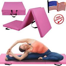 "2"" Thick Soft Folding Panel Gymnastics Mat GYM Yoga Pilates Fitness Exercise Gym"