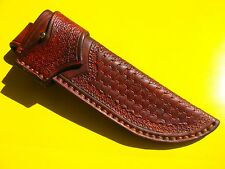 Schöne Messerscheide!17 cm!Handarbeit!! Hochwertiges Sattlerleder! Lederscheide!
