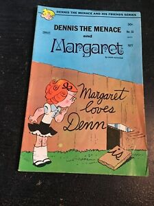 Dennis The Menace And His Friends Series#33 Awesome Condition 5.5(1977) Margot!!
