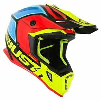Just1 J38 MX Helmet Blade Yellow Red Blue Motocross ATV Off Road ACU Gold