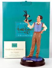 """WDCC Walt Disney Classics Collection Walt & Oswald """"True Originals"""" Brand NEW"""