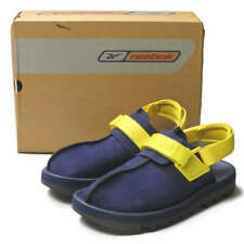 Reebok BEATNIK 24-75364 US9(27cm) Navy/Yellow Suede sandals lakers shoes
