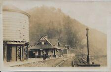 L V Station, Falls PA Real Photo RPPC vintage not postally used Lehigh Valley