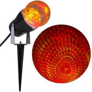 Gemmy LightShow LED Phantasm RRY Red Yellow Stake Light Set