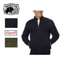*NEW!* Boston Traders Men's Cable Knit Full Zip  Sweater VARIETY Size and Color!