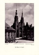 Legnica Silesia 1925 photo illustration Liegnitz town hall ring photo by Foglar