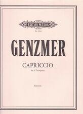 Genzmer : Capriccio, für 5 Trompeten, Stimmen