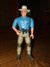 Dr Alan Grant Jurassic Park Toy Figure Blue Kenner Amblin Dinosaur JP