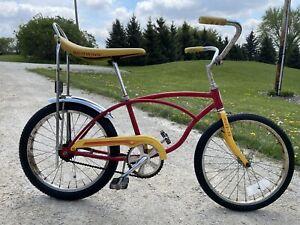 Vintage Schwinn Stingray Banana Seat Muscle Bike