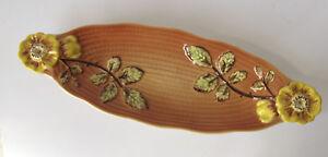 Vintage Shorter & Sons Long Rose Flower Dish - 36cm long - Wonderful condition