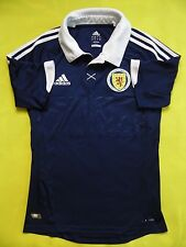 4.6/5 SCOTLAND NATIONAL TEAM 2012 2014 ORIGINAL FOOTBALL HOME JERSEY SHIRT