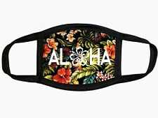 Face Mask Adult Washable Hawaii Fabric Facemask washable Aloha floral
