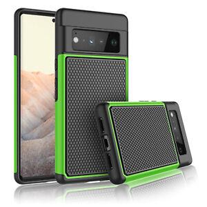 For Google Pixel 6/6 Pro Phone Case Shockproof Hybrid Rugged Rubber Hard Cover