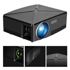 Portable 4K LED 3D 1080P Home Theater Projector LCD Cinema AV/TV/USB/HDMI/VGA UK